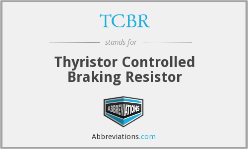 What does TCBR stand for?