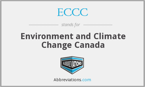 ECCC - Environment and Climate Change Canada