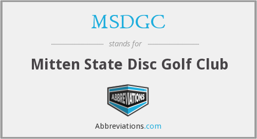 What does MSDGC stand for?