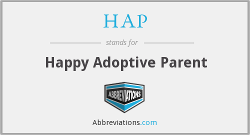HAP - Happy Adoptive Parent