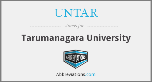 What does UNTAR stand for?