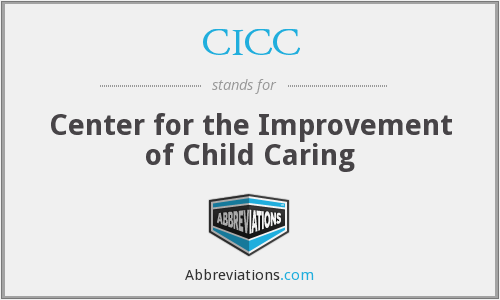 What does CICC stand for?