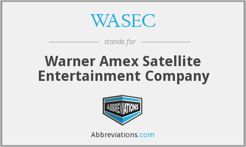 What does WASEC stand for?