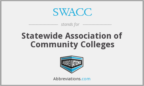 SWACC - Statewide Association of Community Colleges