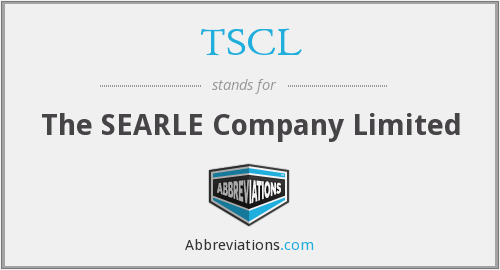 TSCL - The SEARLE Company Limited