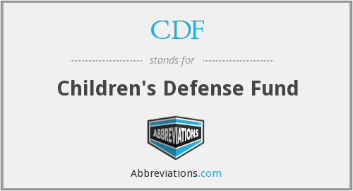CDF - Children's Defense Fund