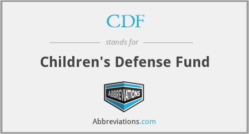 CDF - Children's Defense Fund
