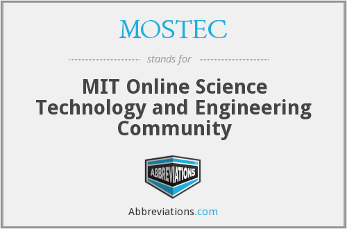 What does MOSTEC stand for?