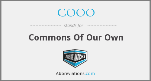 What does COOO stand for?