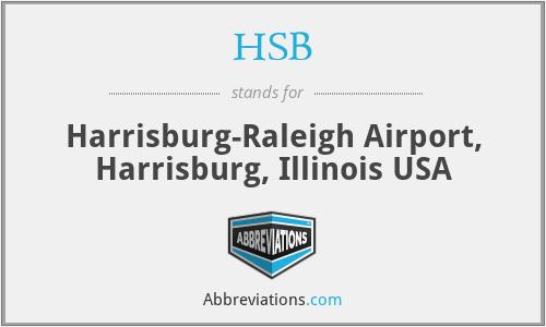 HSB - Harrisburg-Raleigh Airport, Harrisburg, Illinois USA