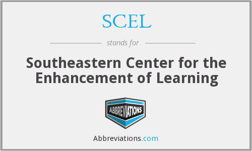 SCEL - Southeastern Center for the Enhancement of Learning