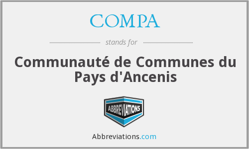 COMPA - Communauté de Communes du Pays d'Ancenis
