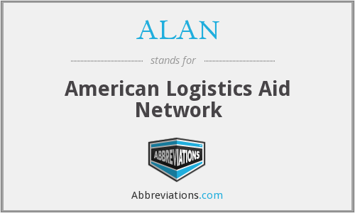 ALAN - American Logistics Aid Network