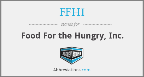 What does FFHI stand for?