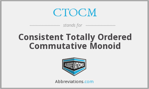 What does CTOCM stand for?