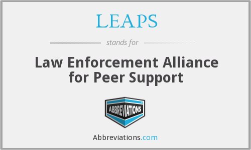 LEAPS - Law Enforcement Alliance for Peer Support