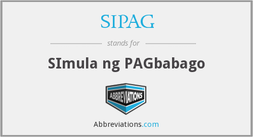 What does SIPAG stand for?
