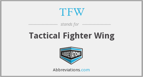 TFW - Tactical Fighter Wing