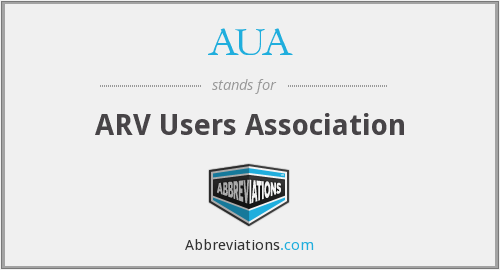 AUA - ARV Users Association