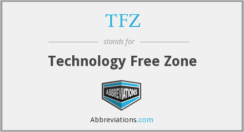 TFZ - Technology Free Zone