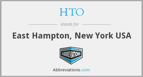 HTO - East Hampton, New York USA