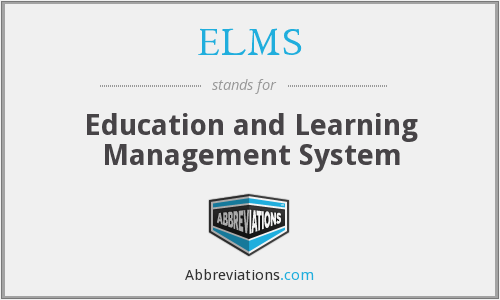 ELMS - Education and Learning Management System