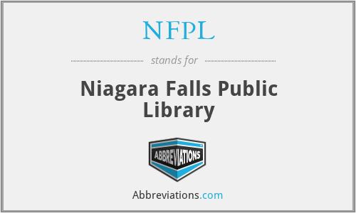 NFPL - Niagara Falls Public Library