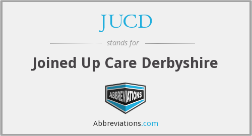 JUCD - Joined Up Care Derbyshire
