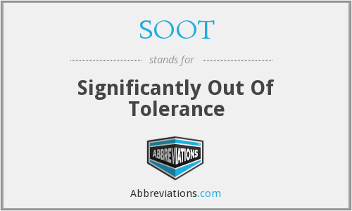 What does SOOT stand for?