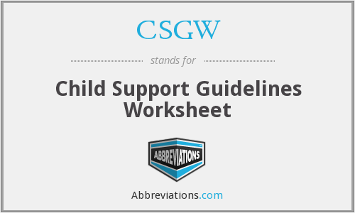 What does CSGW stand for?
