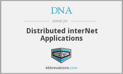 DNA - Distributed interNet Applications