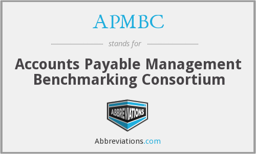 APMBC - Accounts Payable Management Benchmarking Consortium