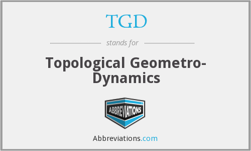 TGD - Topological Geometro- Dynamics