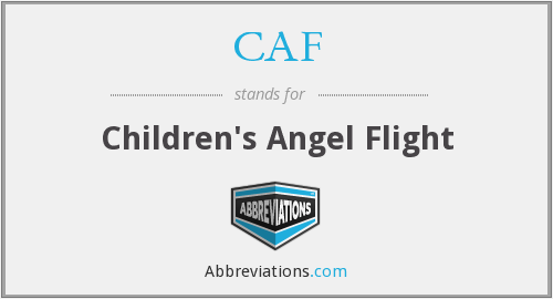 CAF - Children's Angel Flight