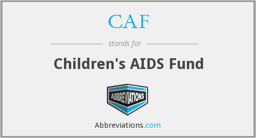 CAF - Children's AIDS Fund