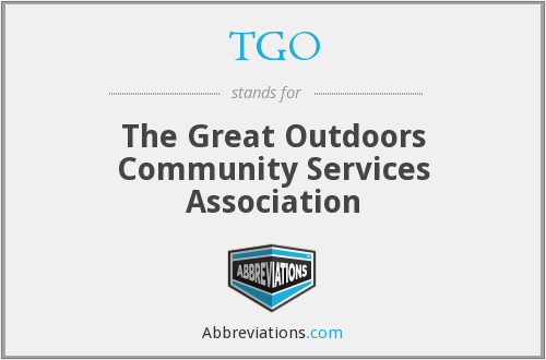 TGO - The Great Outdoors Community Services Association