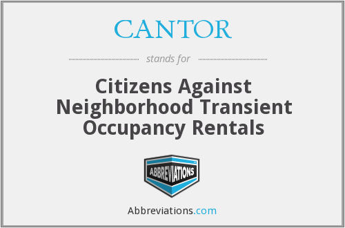 What does CANTOR stand for?