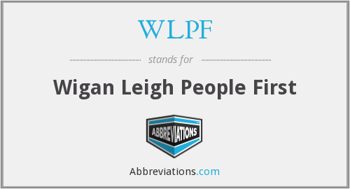 WLPF - Wigan Leigh People First