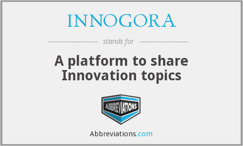 What does INNOGORA stand for?