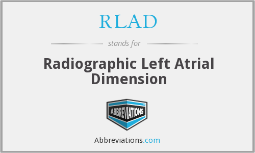 What does RLAD stand for?