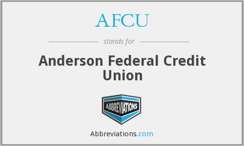 AFCU - Anderson Federal Credit Union