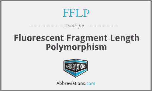 FFLP - Fluorescent Fragment Length Polymorphism
