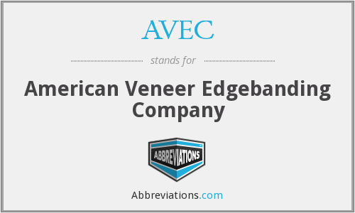 What does veneer stand for?