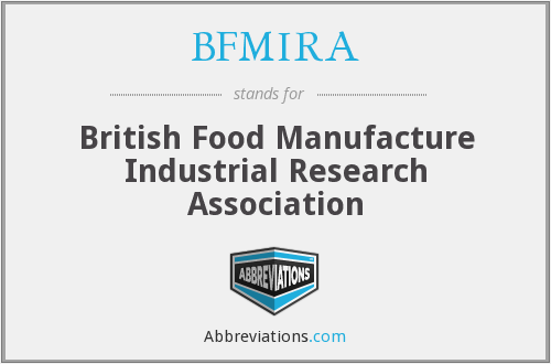 What does BFMIRA stand for?