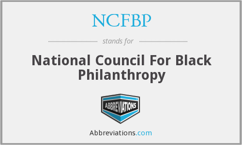 What does NCFBP stand for?
