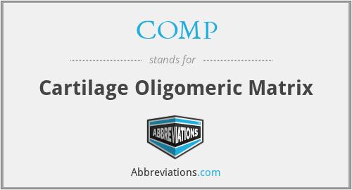COMP - Cartilage Oligomeric Matrix