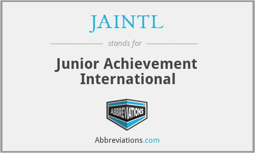 JAINTL - Junior Achievement International