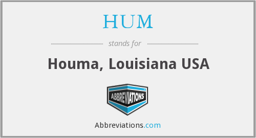 HUM - Houma, Louisiana USA