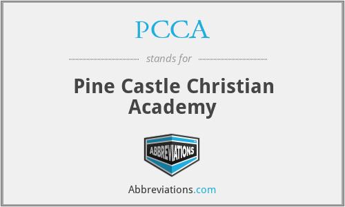 PCCA - Pine Castle Christian Academy
