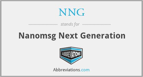 NNG - Nanomsg Next Generation